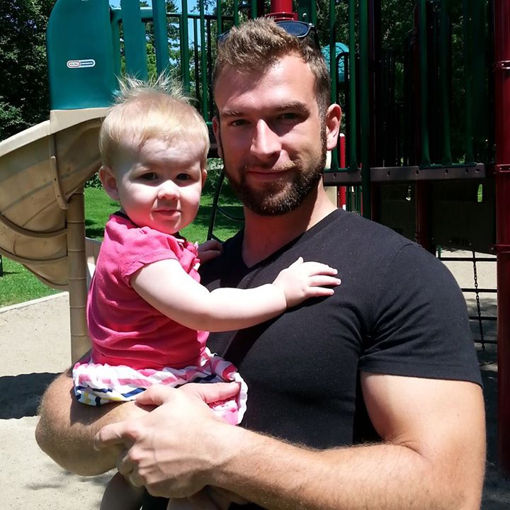 Garin and daughter Lilly, July 2014