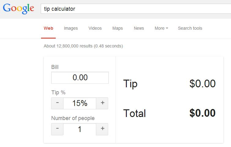 Google-tip-calculator